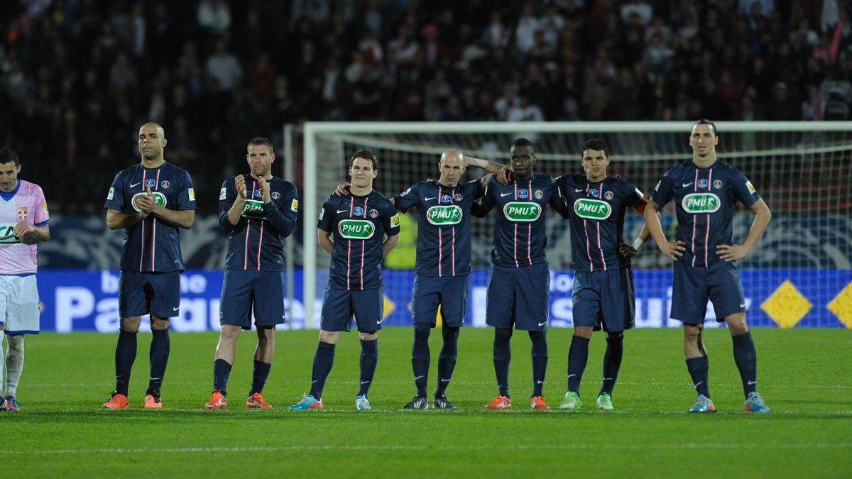Evian PSG 2013 Coupe de France