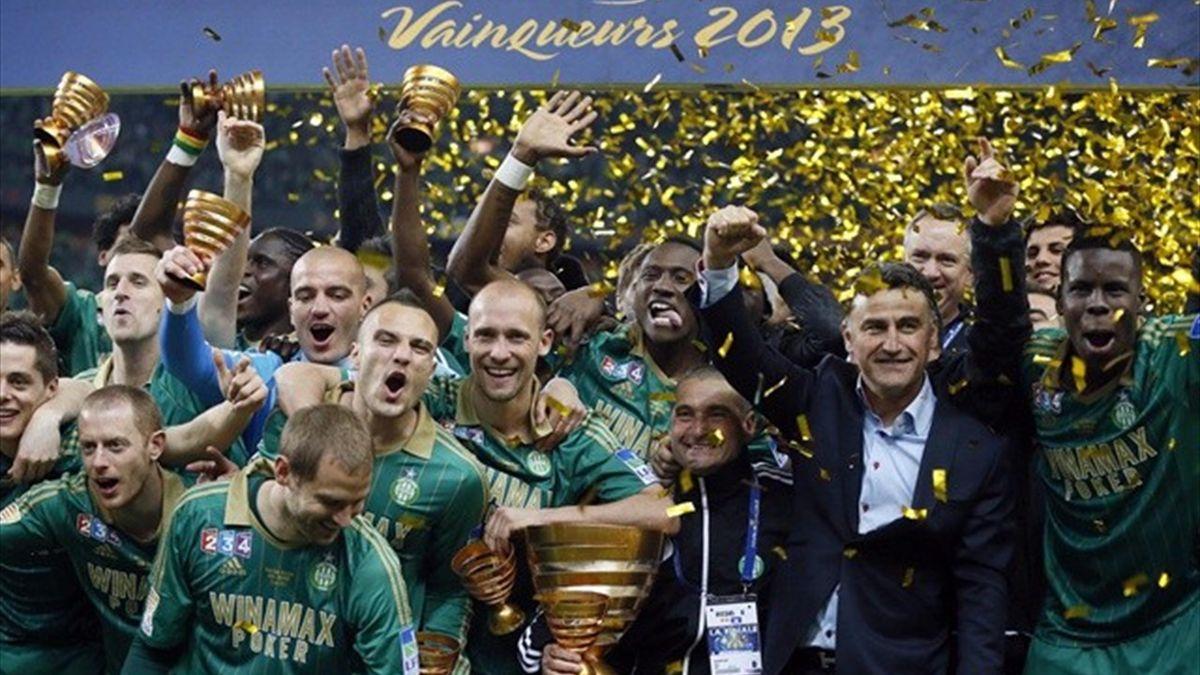 Saint Etienne vainqueur Coupe de la Ligue