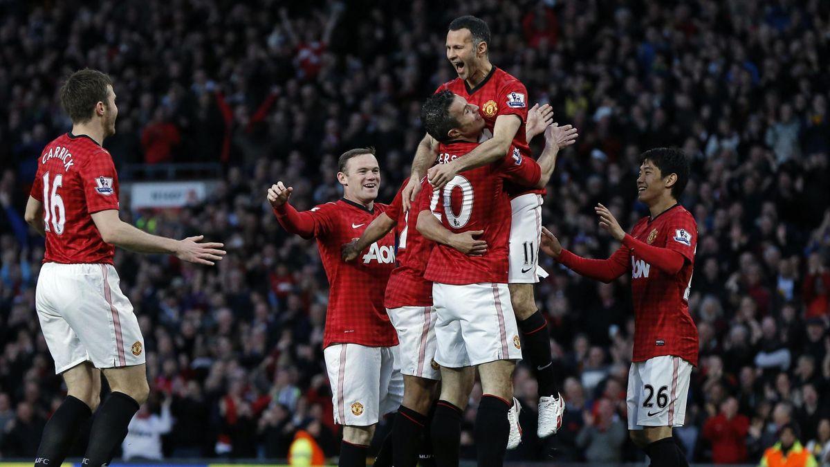 Manchester United Ryan Giggs Robin van Persie