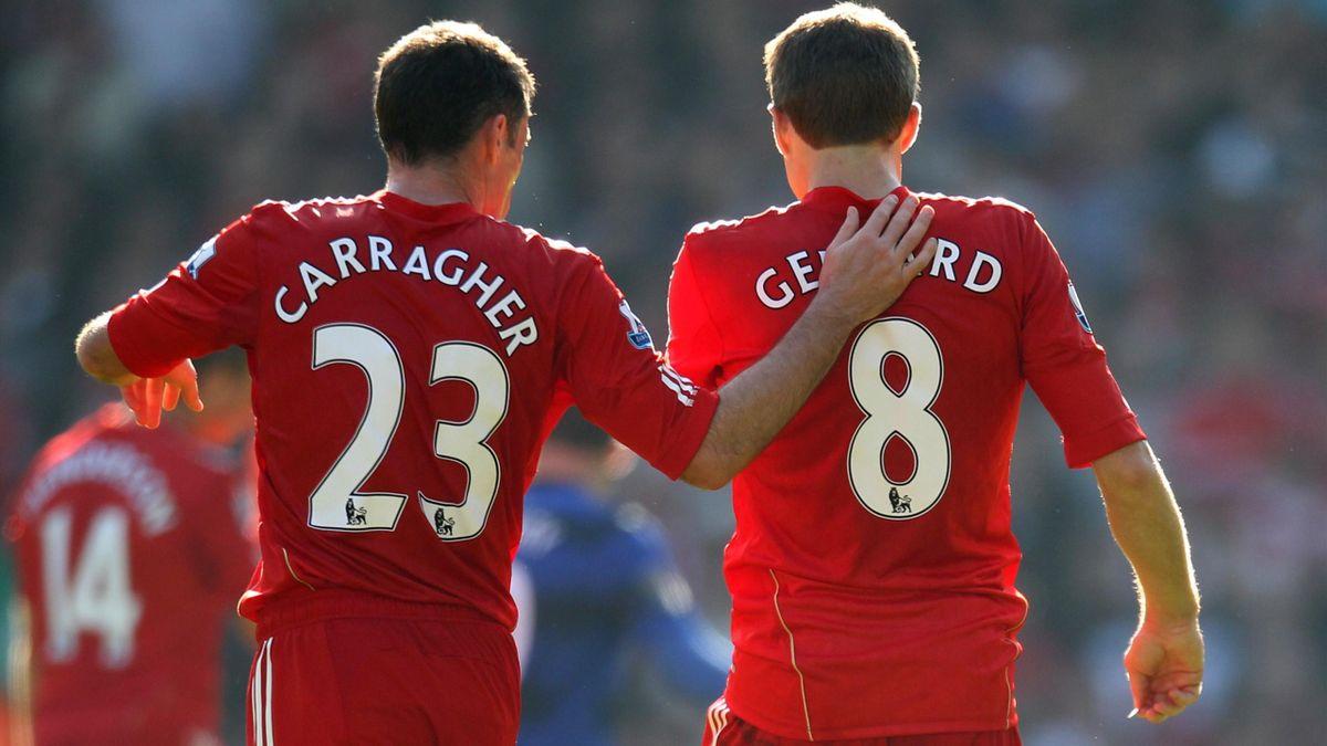 Carragher si Gerrard au visat mereu la un titlu în tricoul lui Liverpool