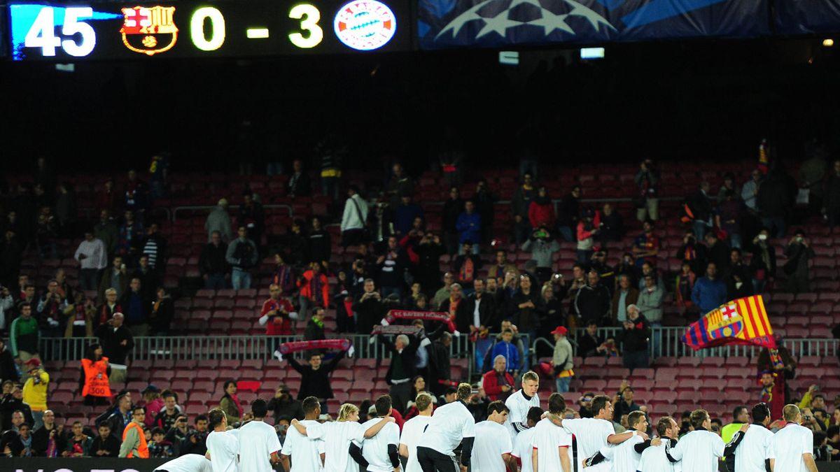 Bayern Barcelona score