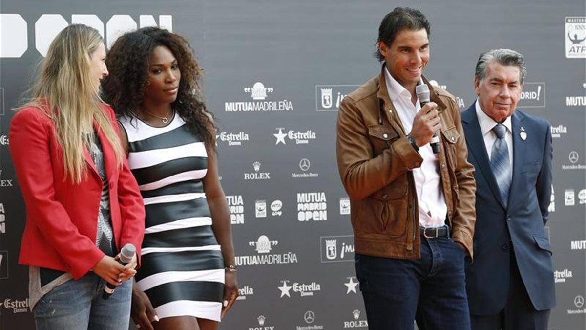 Rafa Nadal en la presentación del Madrid Open