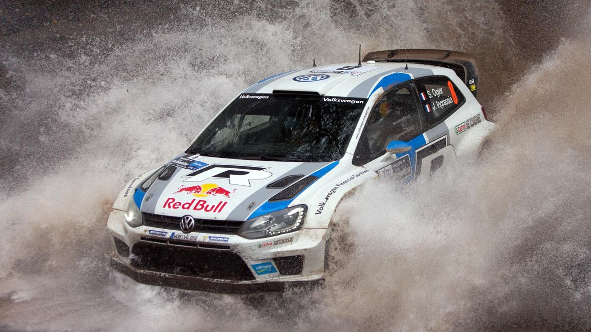 French driver Sebastien Ogier (AFP)