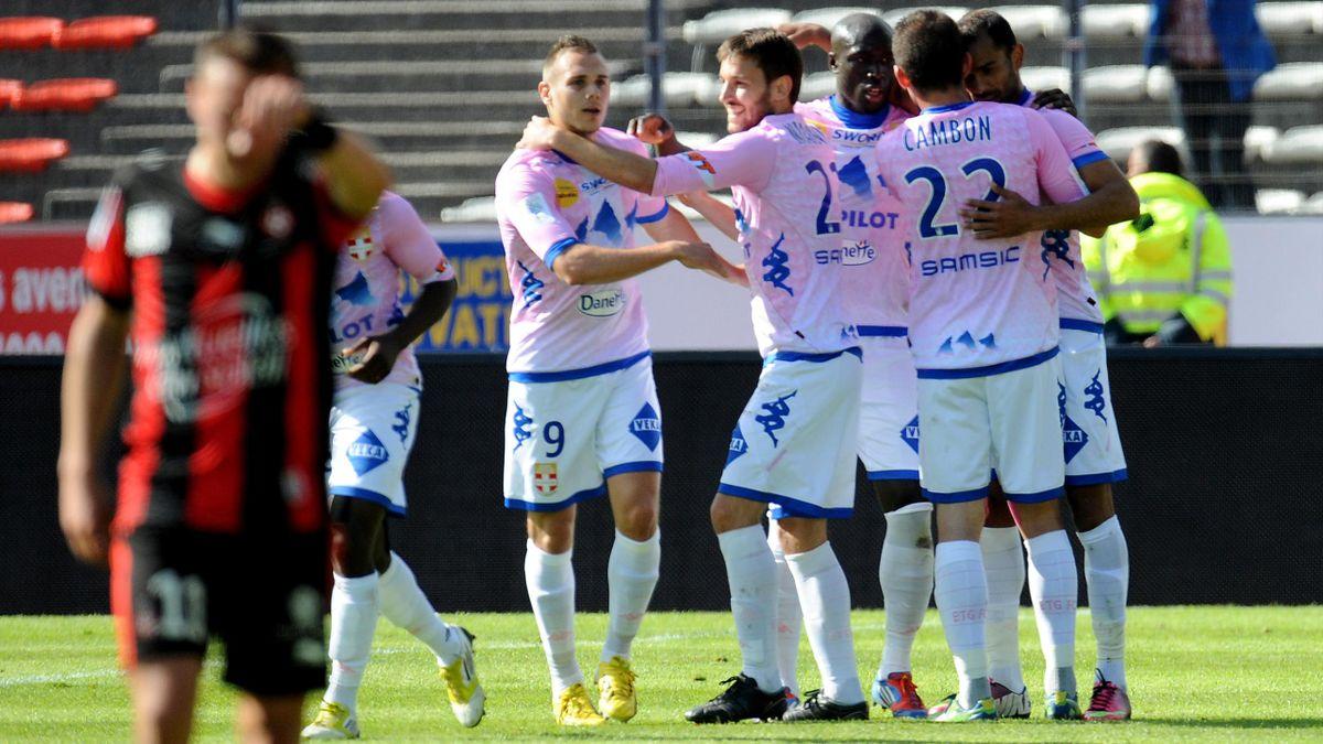 2012-2013 Ligue 1 Evian-Nice Joie ETG