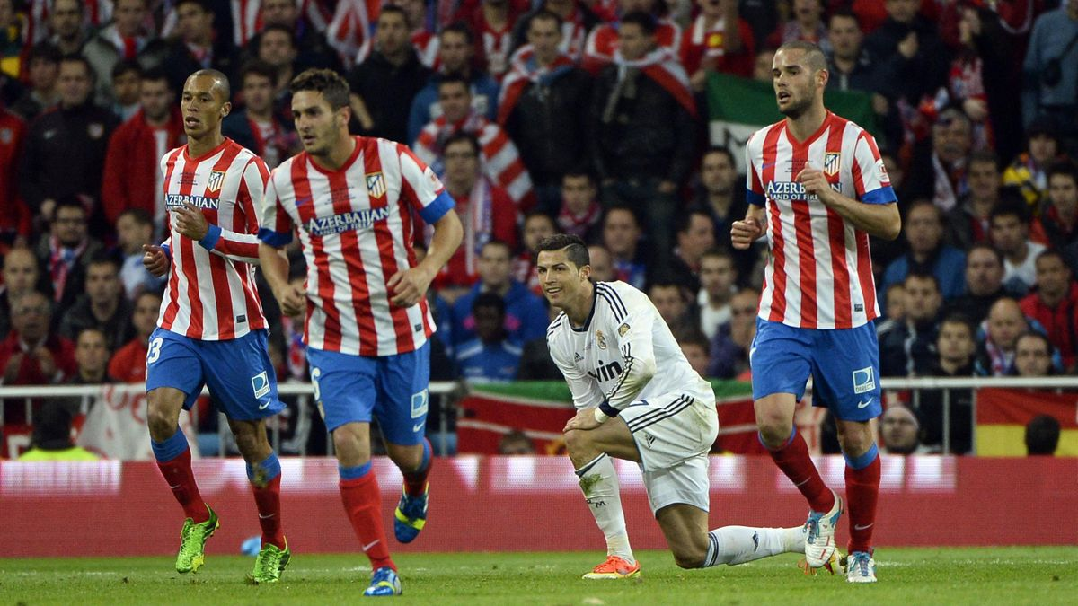 Finale Coupe du Roi Real Madrid Atletico Ronaldo