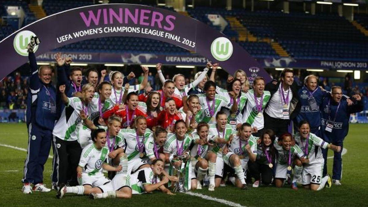 вольфсбург лига чемпионов женская
