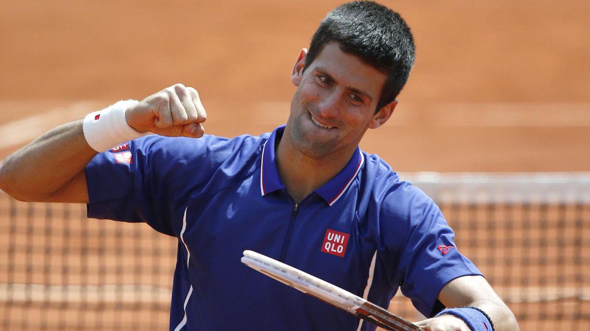 TENNIS Roland-Garros 2013 - Djokovic
