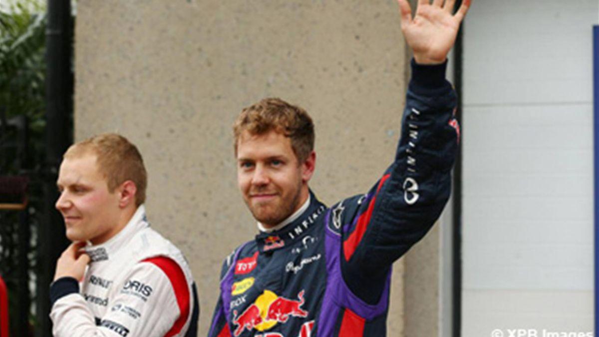 Vettel n'accorde pas d'importance à la météo