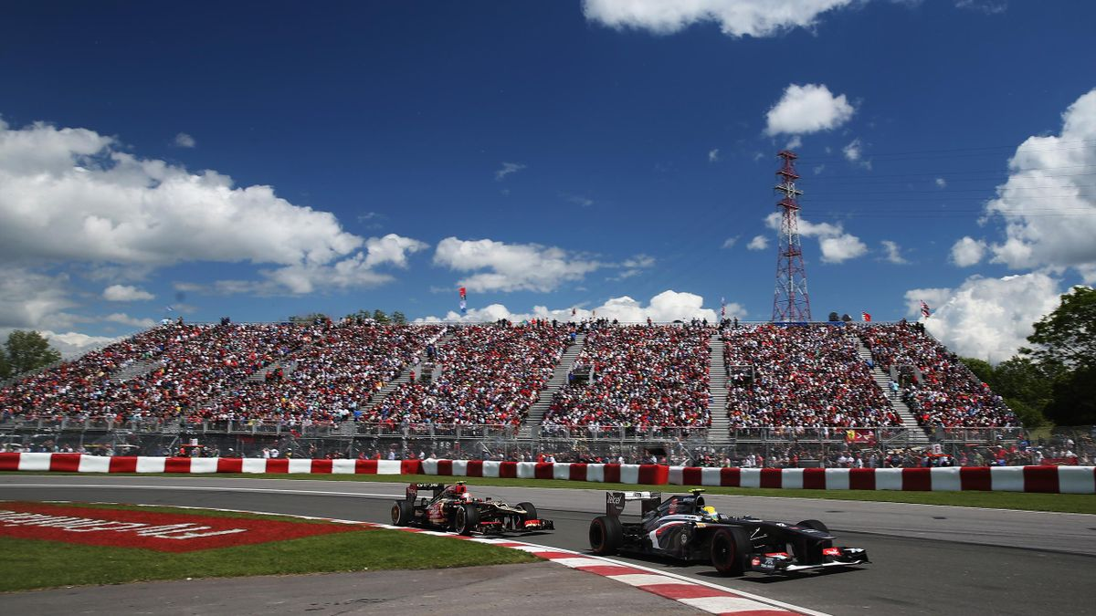 CANADA, Montreal : MONTREAL, QC - JUNE 09: Esteban Gutierrez of Mexico and Sauber F1 drives during the Canadian Formula One Grand Prix at the Circuit Gilles Villeneuve on June 9, 2013 in Montreal (AFP)