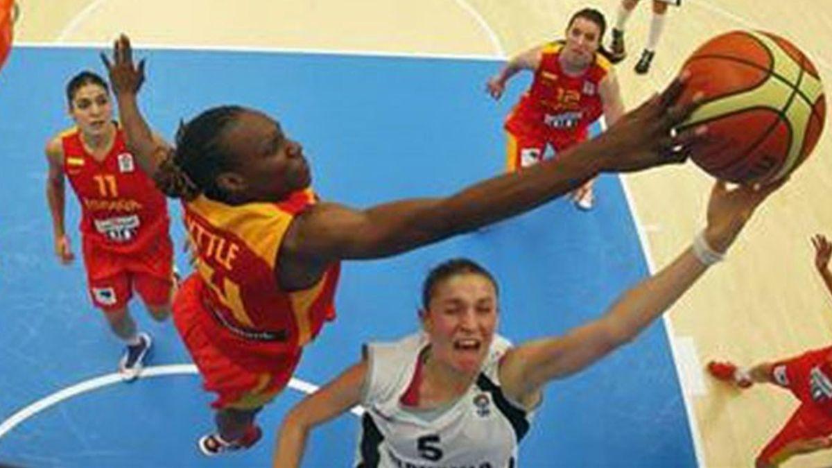 España-Eslovaquia Eurobasket Femenino (Foto: FEB)