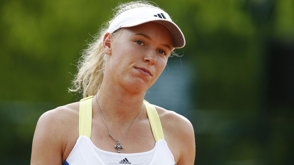 Caroline Wozniacki of Denmark is pictured during the French Open tennis tournament at the Roland Garros stadium  (Reuters)