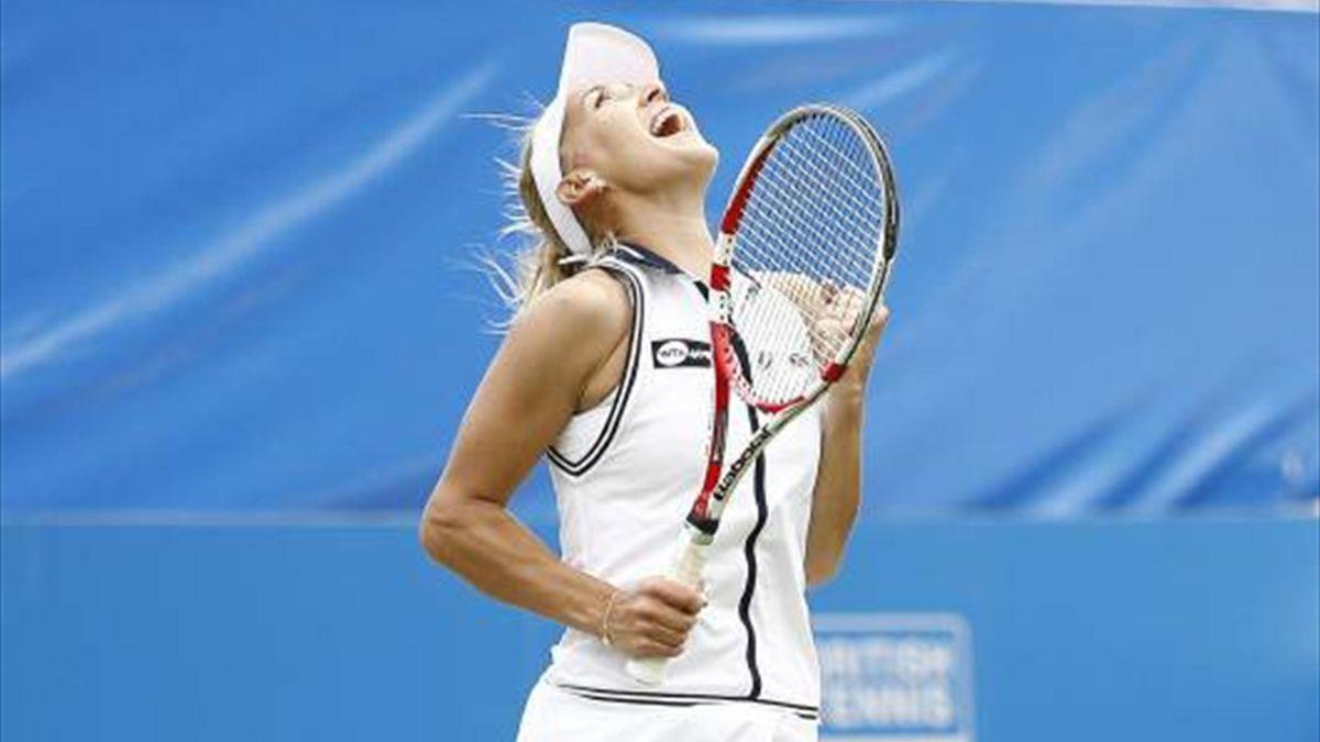 Elena Vesnina wins WTA Eastbourne (AFP)
