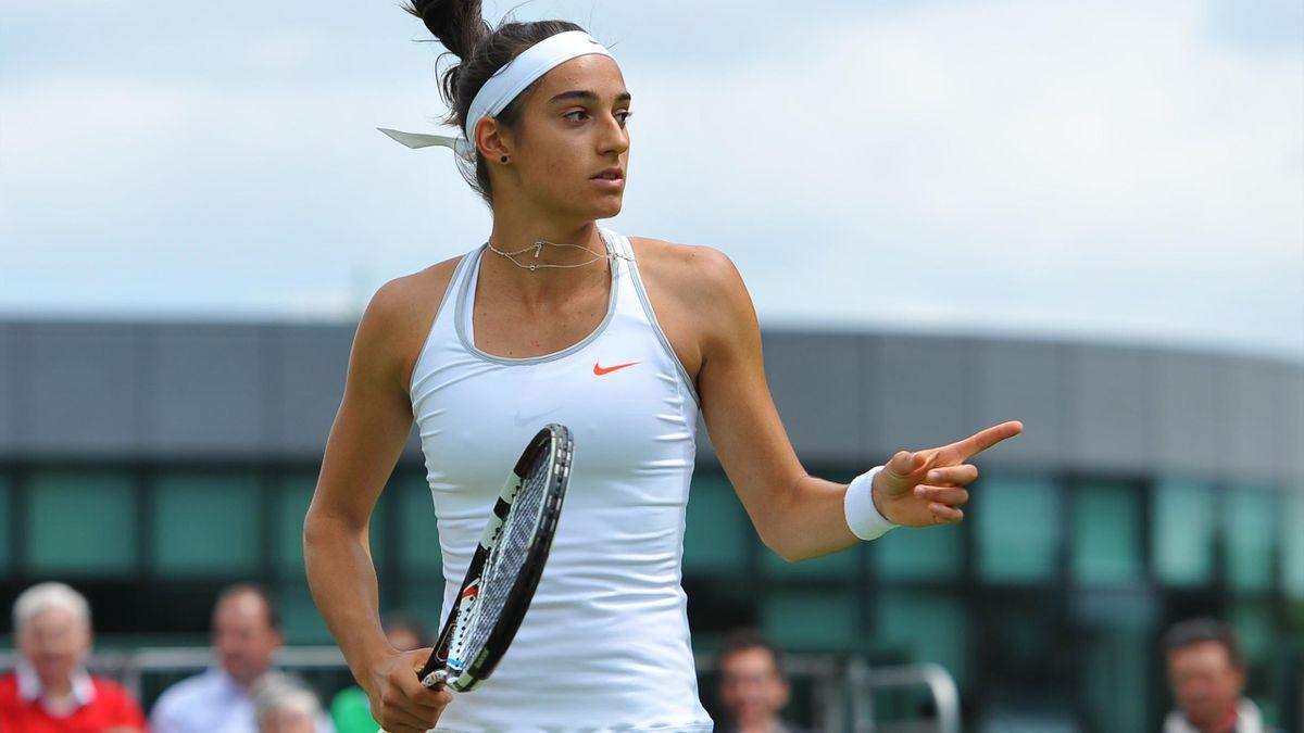 Caroline Garcia Wimbledon 2013