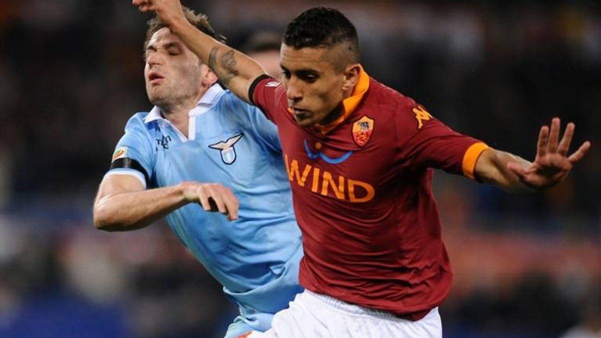 Barca target Marquinhos mixed up in Roma row - Eurosport