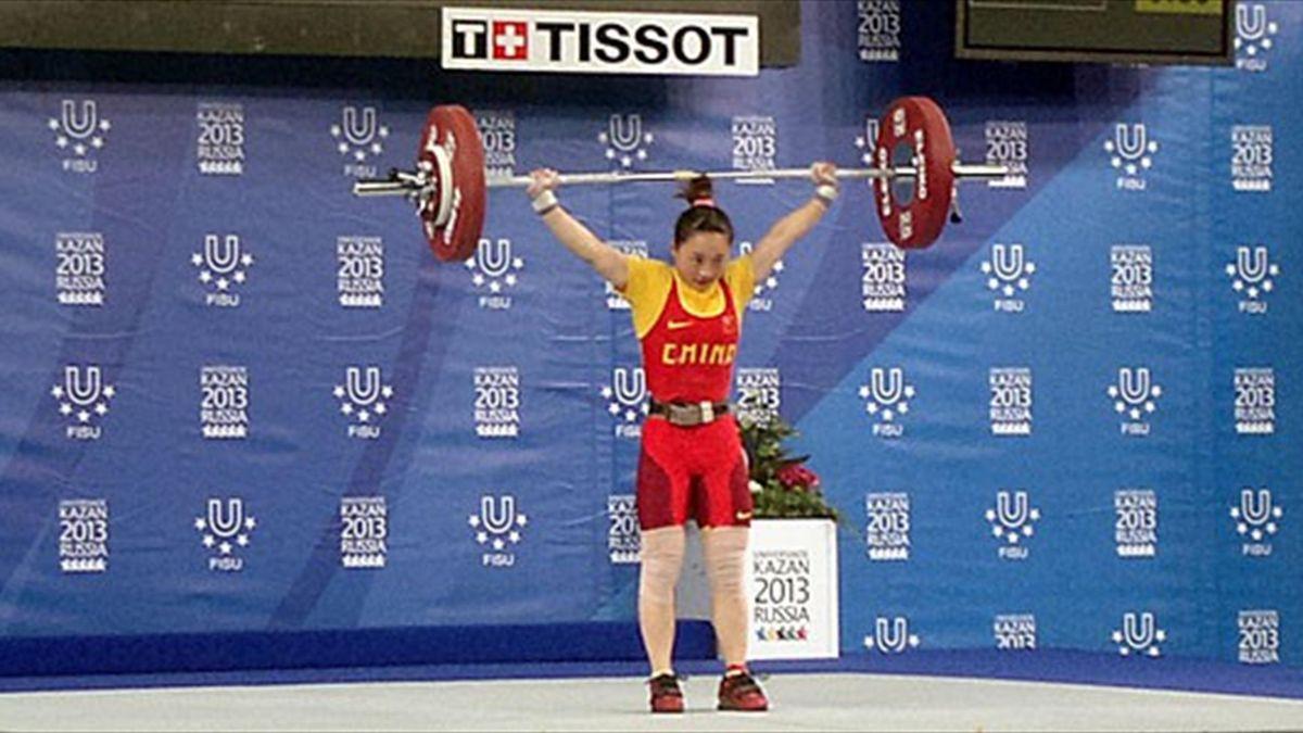 China's Xia Hongyu