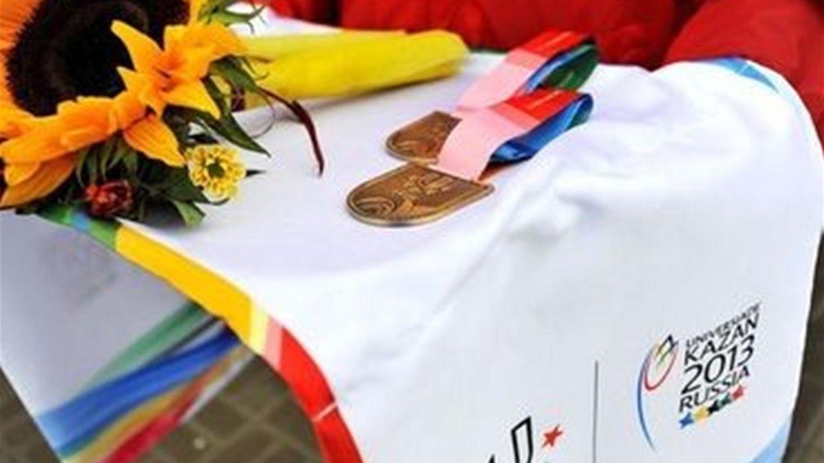 kazan universiade medal