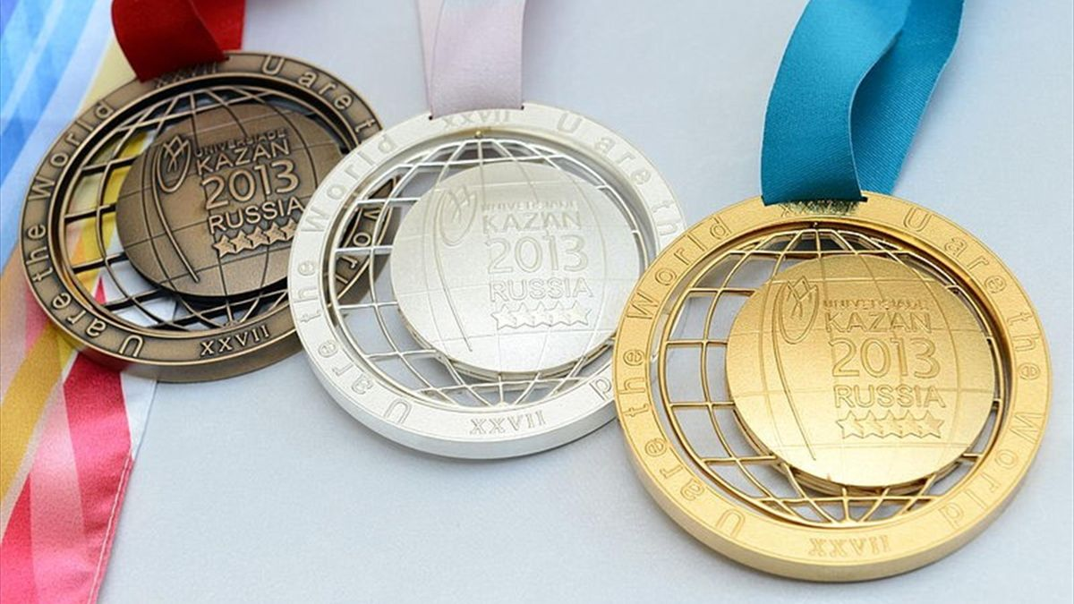 Summer Universiade 2013 Kazan medals