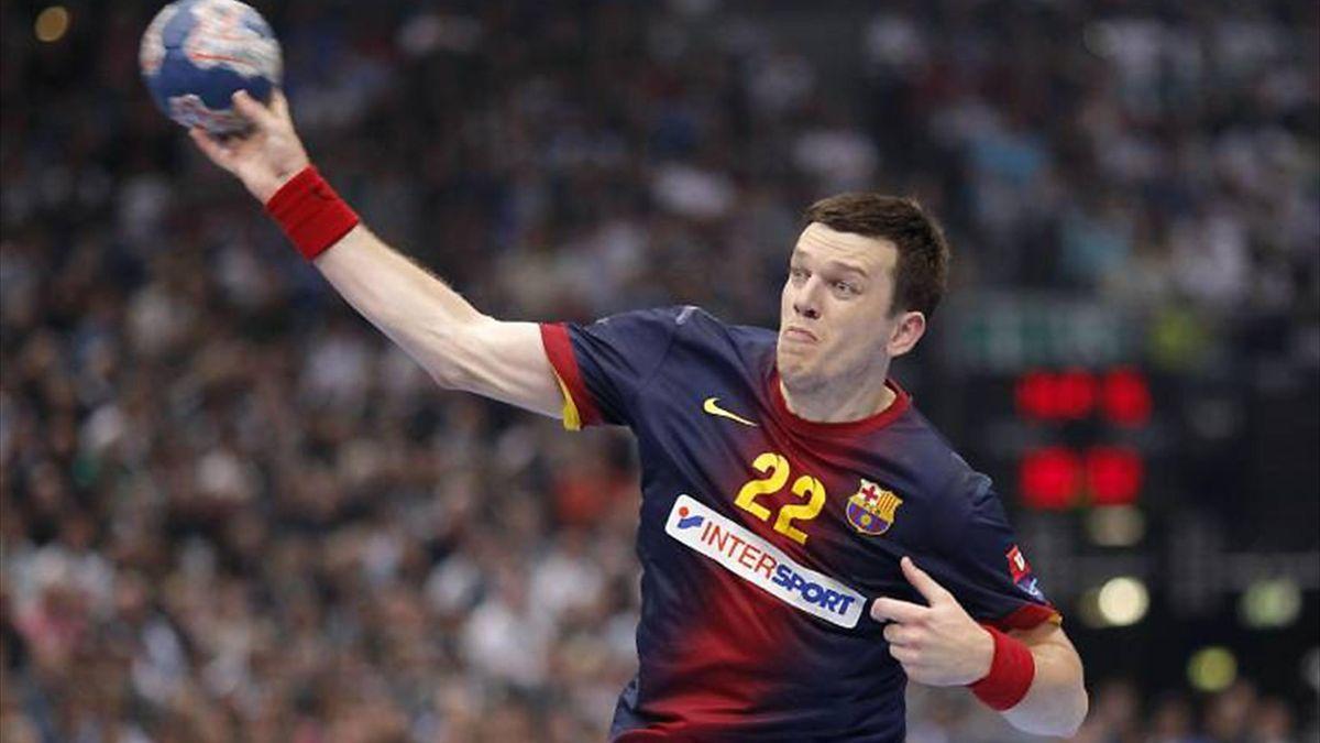 Siarhei Rutenka vom FC Barcelona