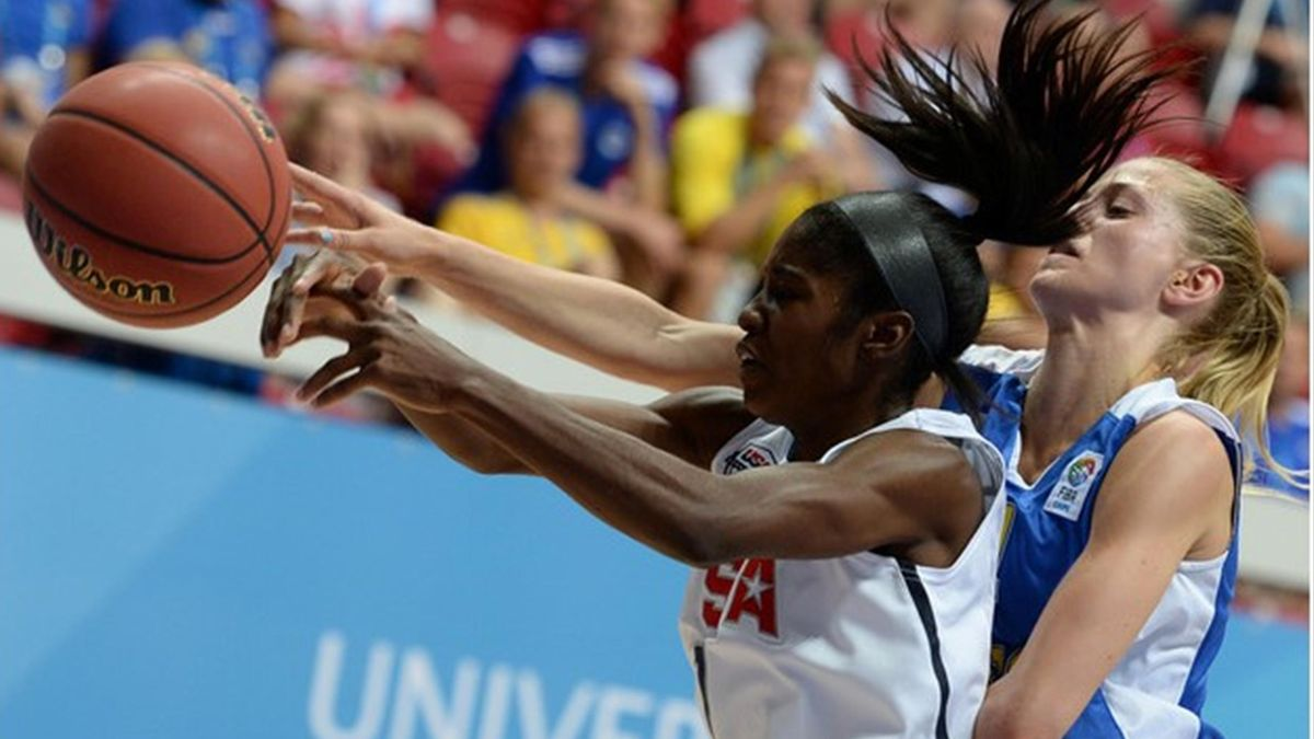 Summer Universiade, day seven, basketball. © RIA Novosti