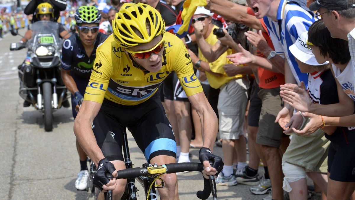 Tour de France 2013 Etape 15 Froome Quintana