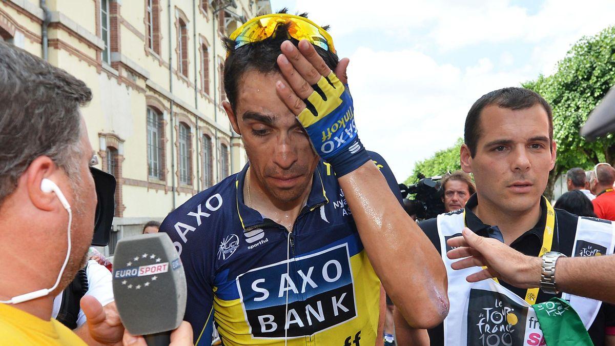 Tour de France 2013 Saxo Contador 8th stage