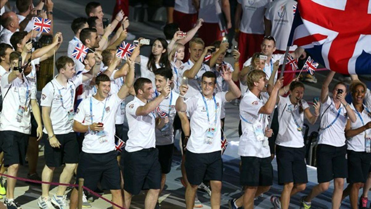 British athletes at the Summer Universiade in Kazan (AFP)