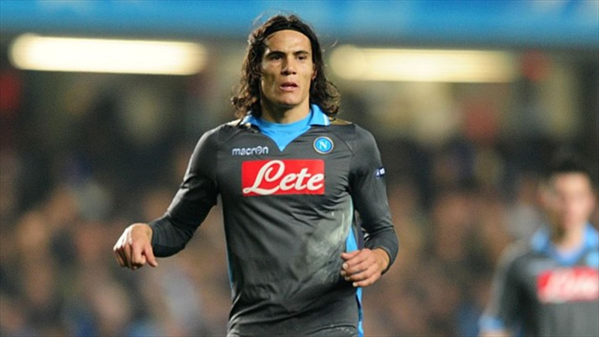 Edinson Cavani penned a five-year contract at Paris St Germain for an undisclosed fee