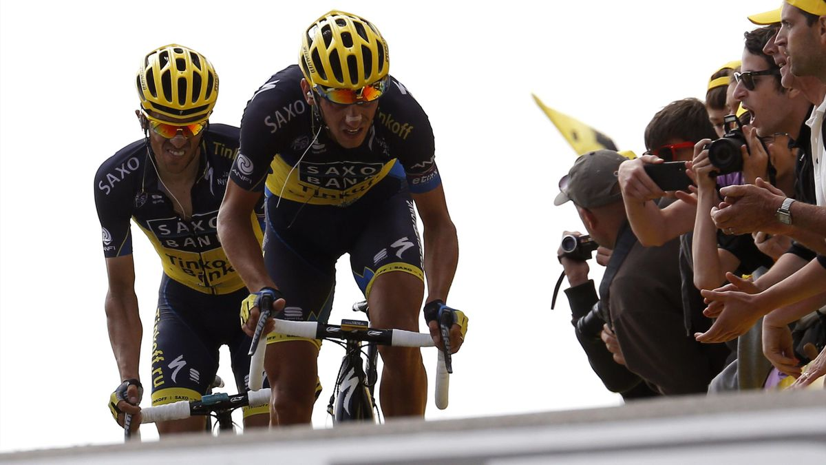 2013 Tour de France Contador Kreuziger