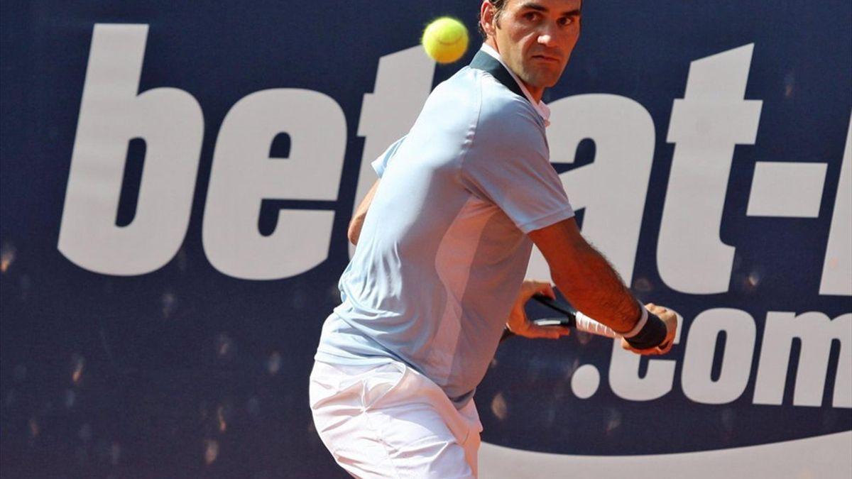 Federer erreicht in Hamburg das Viertelfinale