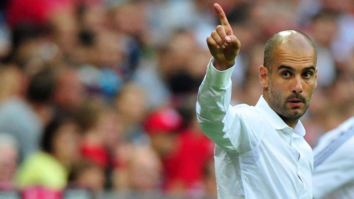 Pep Guardiola will in Dortmund Titel Nummer eins holen