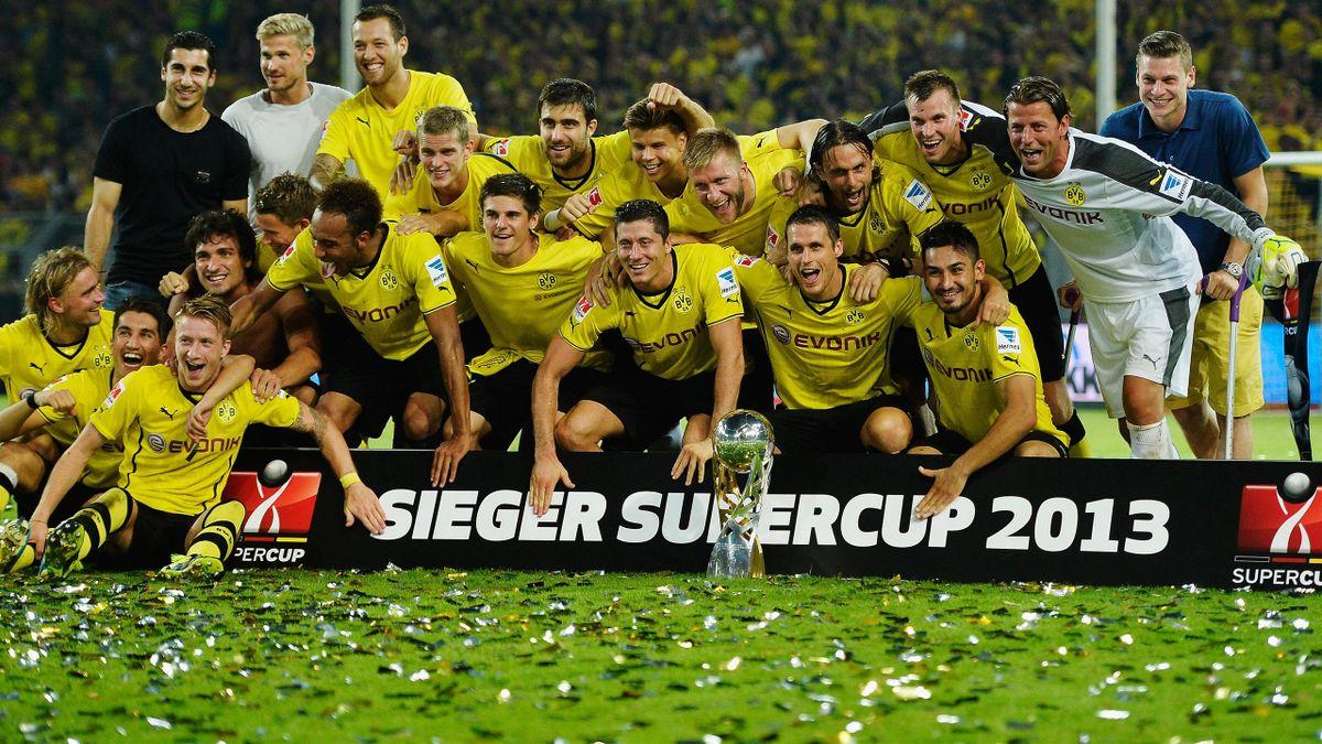 Der Sieger des Supercups 2013 heißt Borussia Dortmund.
