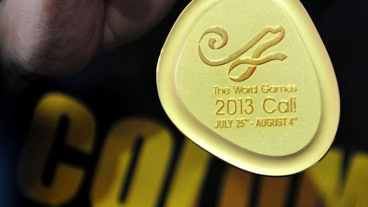 Error en las medallas de los Juegos Mundiales