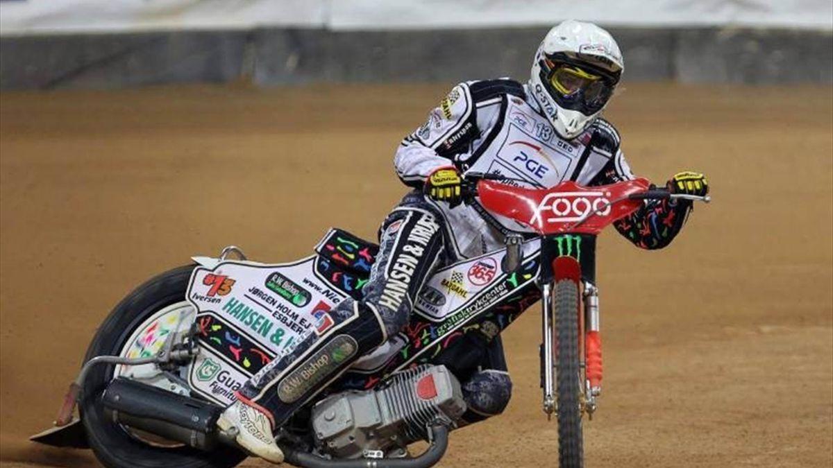 Speedway's Niels Kristian Iversen of Denmark
