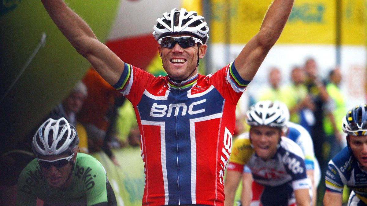 Thor Hushovd wins stage two of the Arctic Race