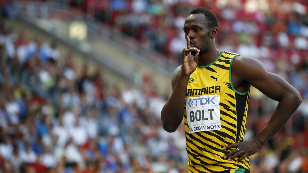 2013 World Championships Moscow Bolt