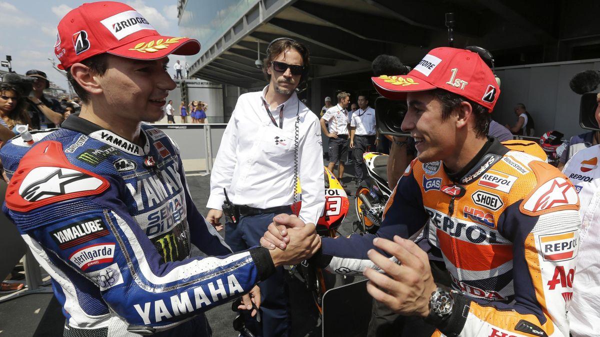 2013, Jorge Lorenzo, Marc Marquez, MotoGp, AP/LaPresse