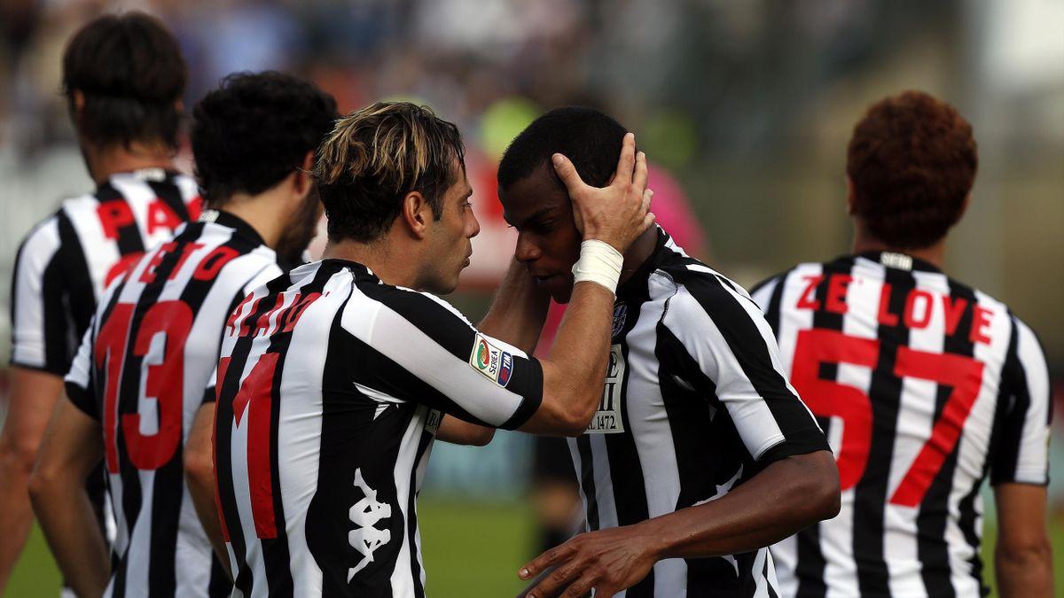 Siena players (Reuters)