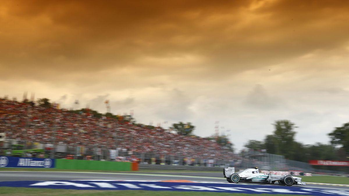 2013 GP d'Italie Mercedes Hamilton