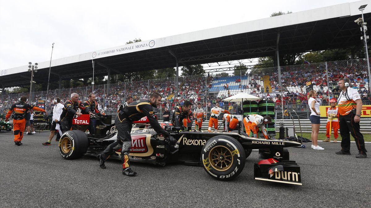 2013 GP d'Italie Lotus Räikkönen