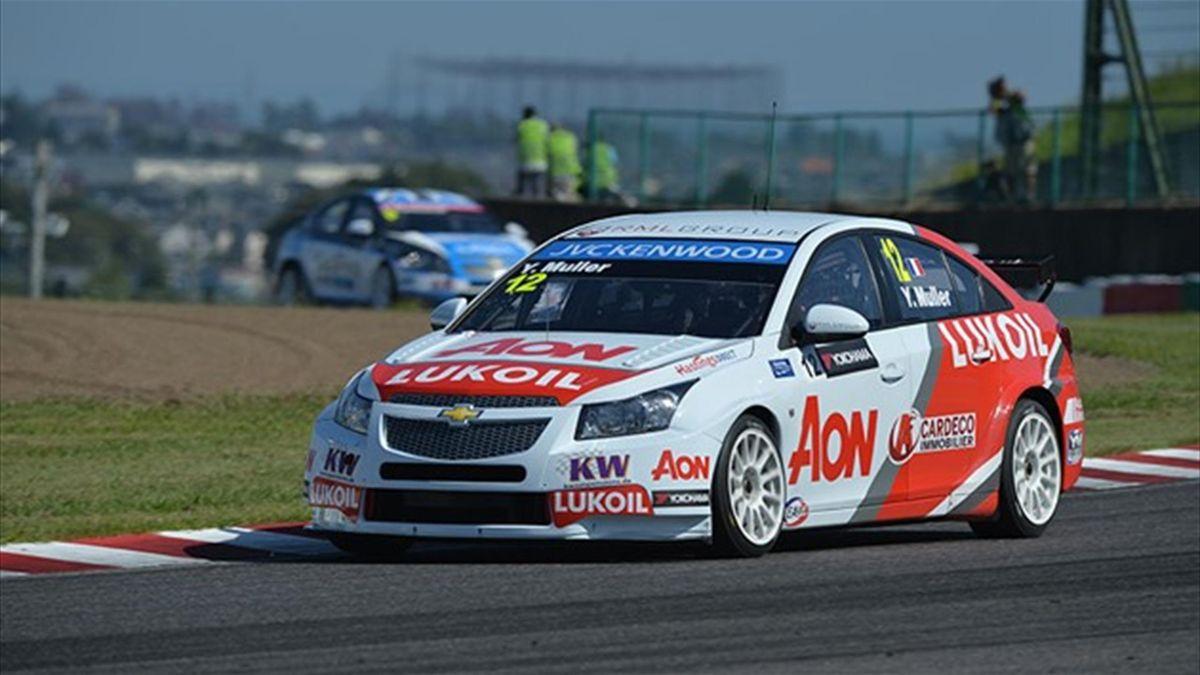 Yvan Muller of France (FIA WTCC)
