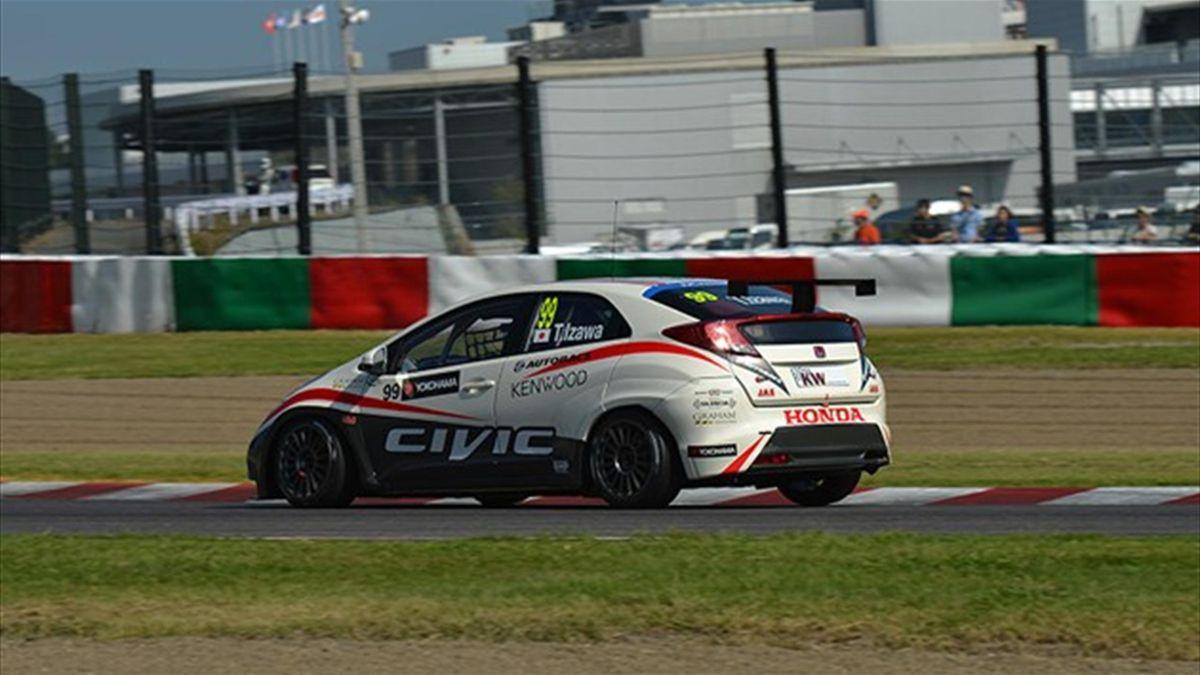 Honda guest driver Takuya Izawa (FIA WTCC)