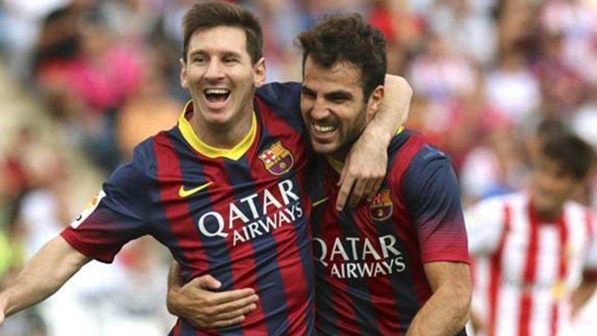 FC Barcelona (Messi und Fabregas)