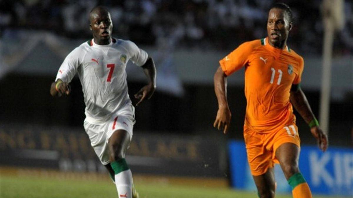 Moussa Sow - Didier Drogba