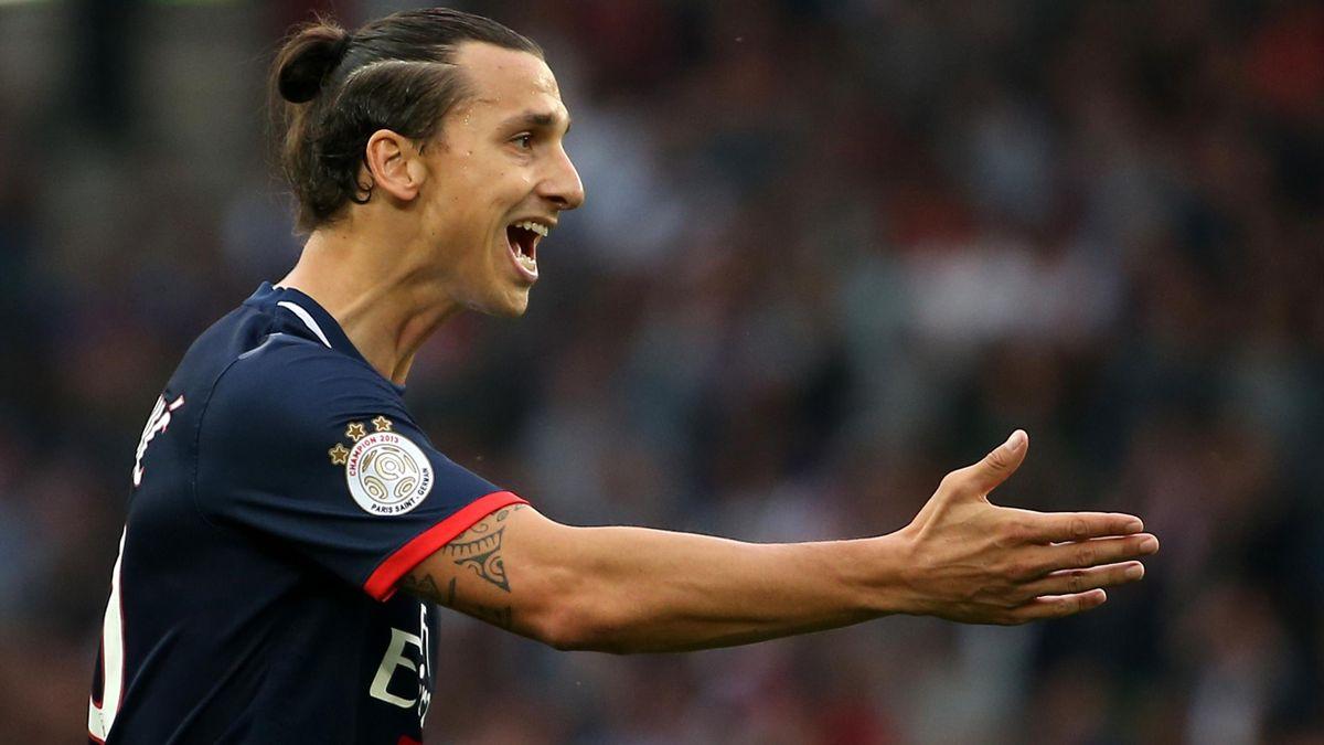 2013-14, Paris Saint Germain, Zlatan Ibrahimovic (AFP)
