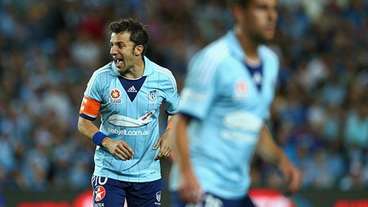 Alessandro Del Piero, Sydney Fc, 2013-14