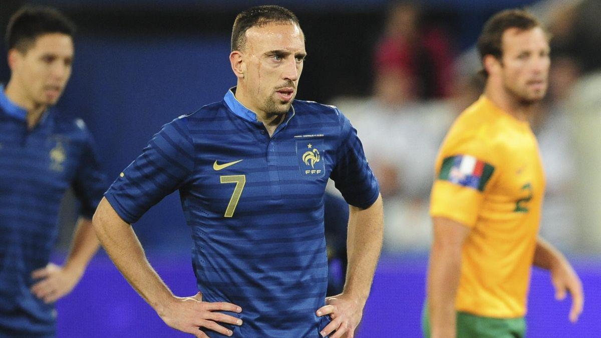 FOOTBALL 2013 France - Australie (Ribery)