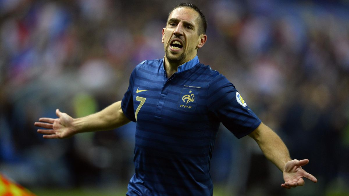 2013 France Finlande Franck Ribéry