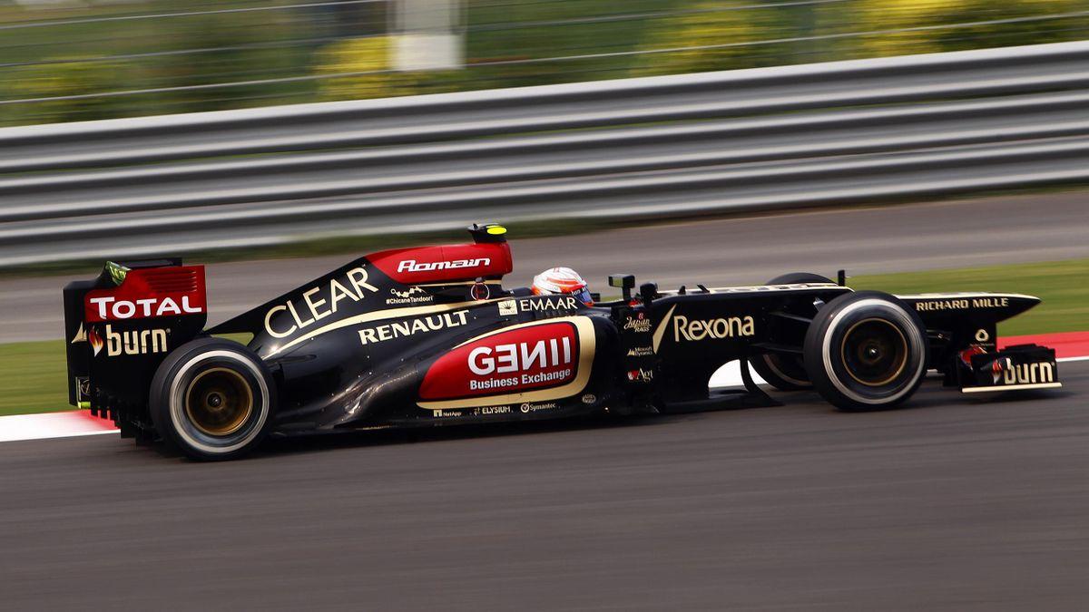 2013 GP d'Inde Lotus Grosjean