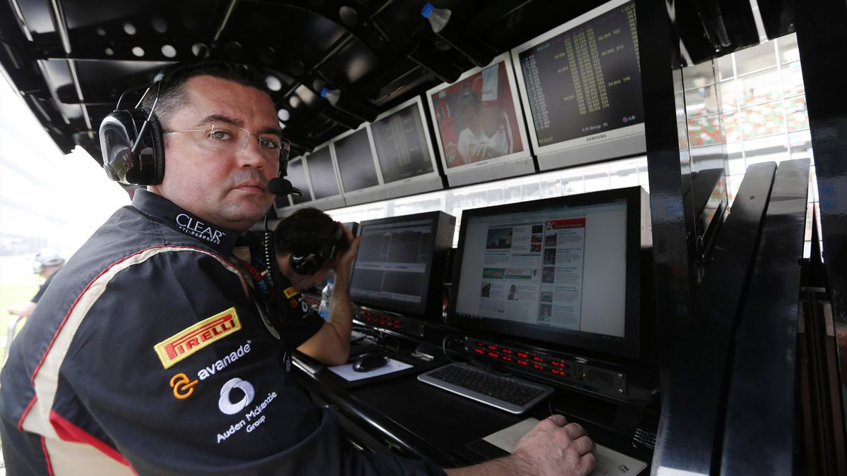 2013 GP d'Inde Lotus Boullier