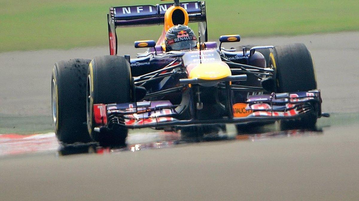 Sebastian Vettel erneut auf Pole Position